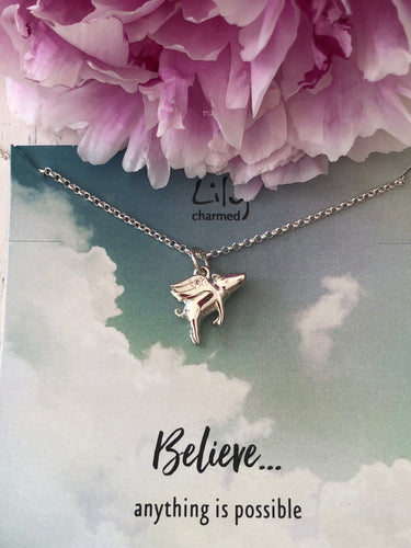 Pigs might Fly Necklace - Lily Charmed