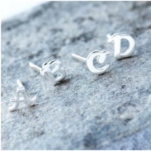 Alphabet Earrings - Beau's Boutique