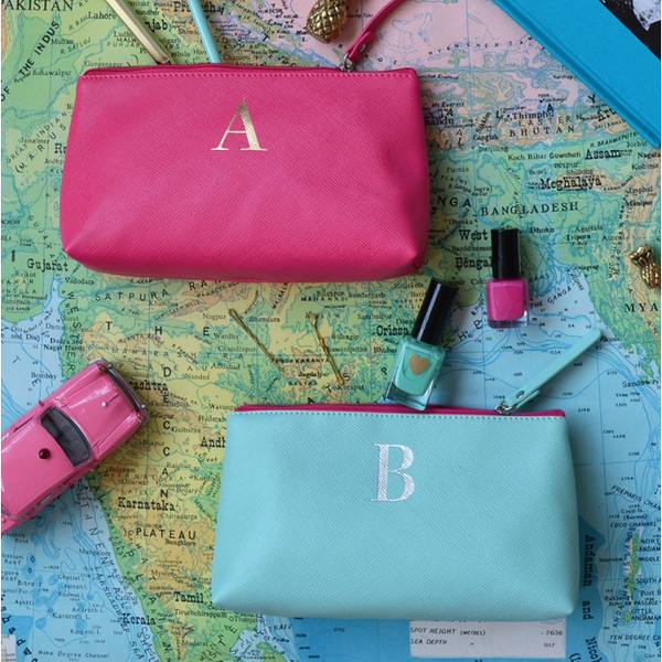 A WEB EXCLUSIVE - Monogram Make Up Bags