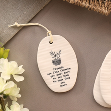 Porcelain hanger - Friends - Beau's Boutique