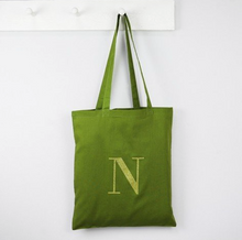 DS - Personalised Initials Cotton Tote Bag - Beau's Boutique