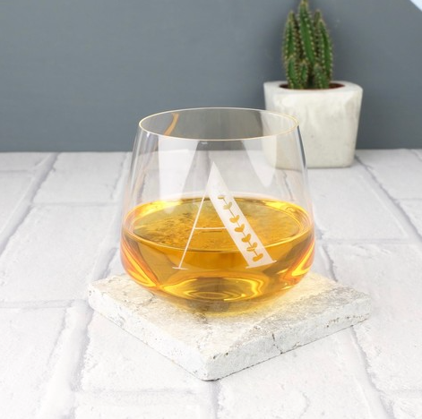 DS - Personalised Engraved Initial Whisky Glass - Beau's Boutique
