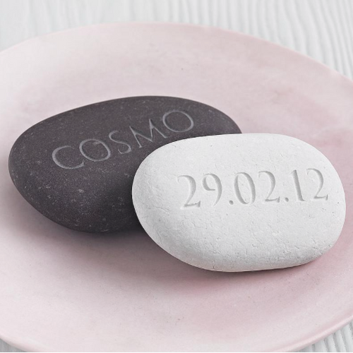 DS - Personalised Engraved Pebble - Beau's Boutique