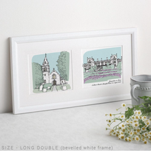 DS - Personalised Wedding Venue Portrait Small - Beau's Boutique