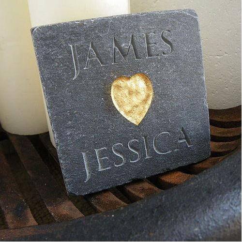 DS - Personalised Love Tile - Beau's Boutique