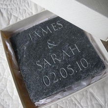 DS - Personalised Date Tile - Beau's Boutique