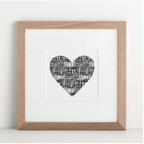 DS - Personalised Heart - Small - Beau's Boutique
