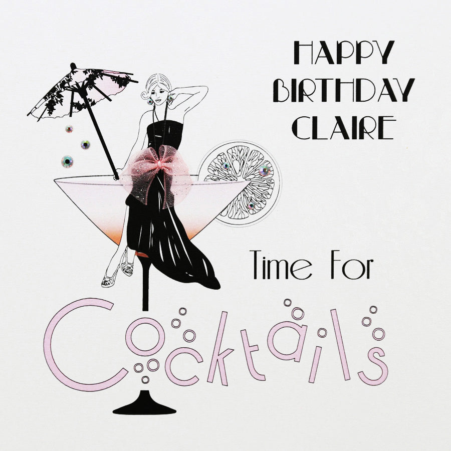 Five Dollar Shake Personalised Birthday Card - Beau's Boutique