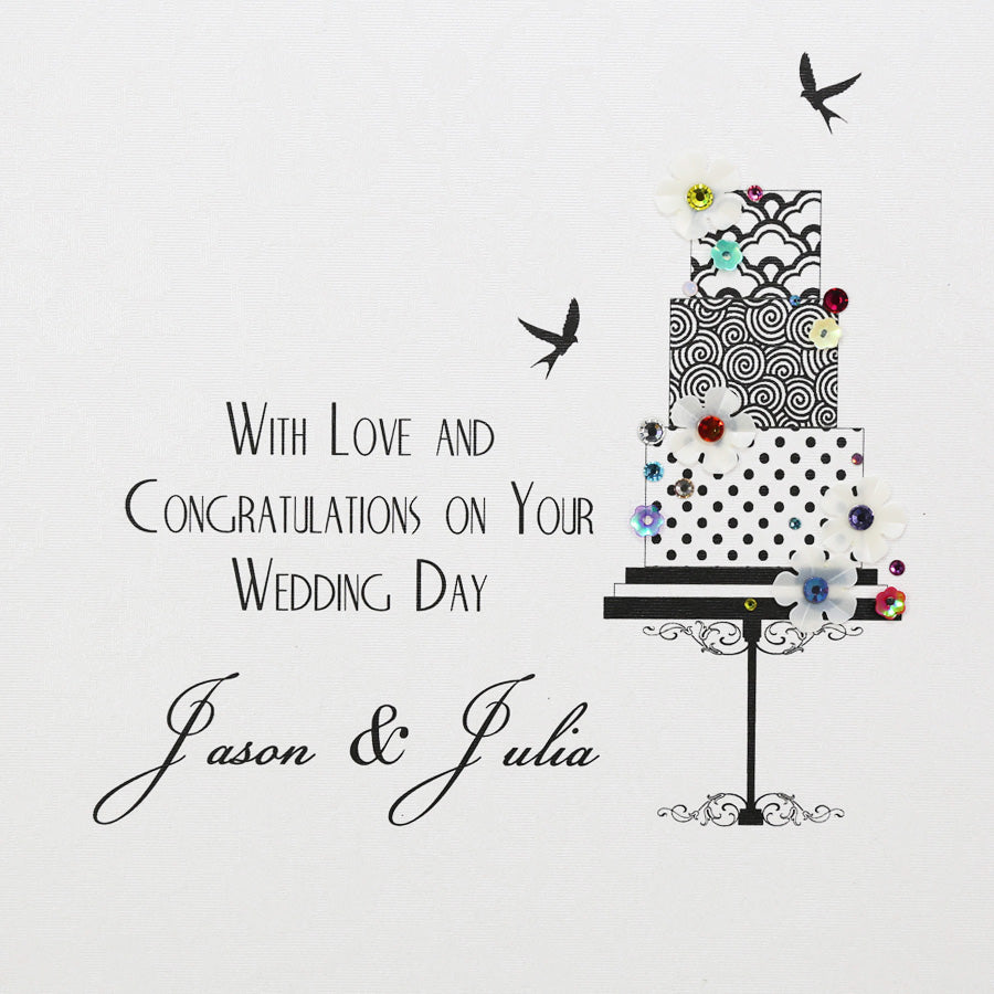 Five Dollar Shake Personalised Wedding Card - Beau's Boutique