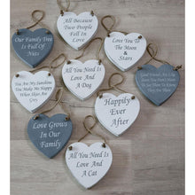 All you need is love and a Cat - Wooden Sign Retreat Home - Beau's Boutique