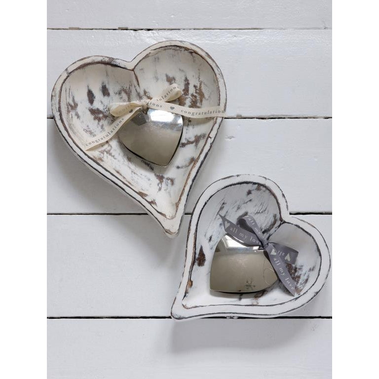 large Heart Shaped Tray - Retreat Home - Beau's Boutique