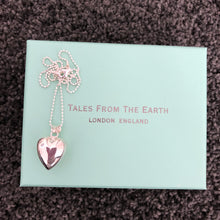 Girls Chiming Heart Necklace - Beau's Boutique