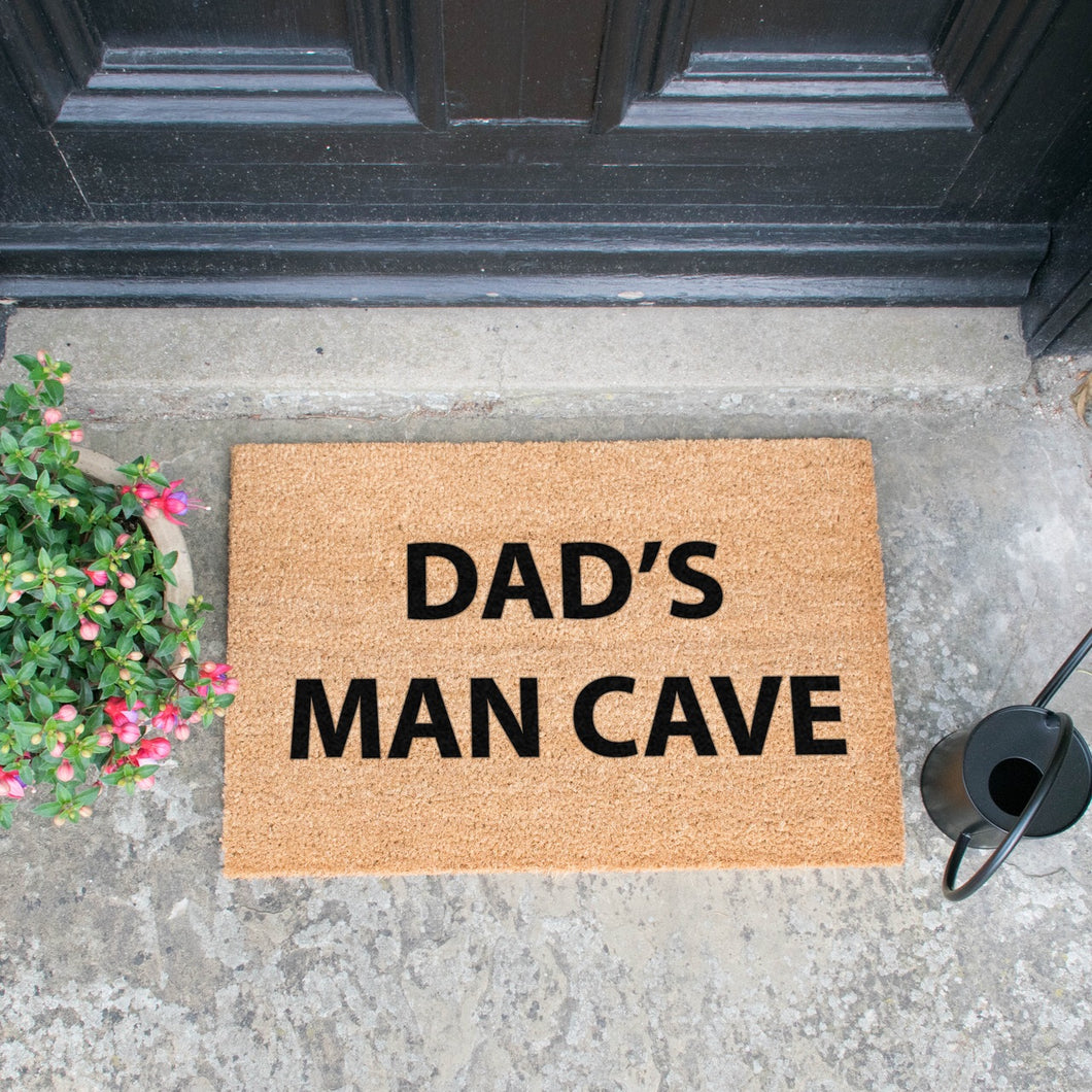 Dads man Cave - Doormat