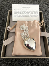 Large Chiming Heart Necklace - Beau's Boutique