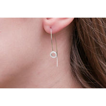 KELLY STERLING SILVER LONG CZ EARRINGS - Beau's Boutique
