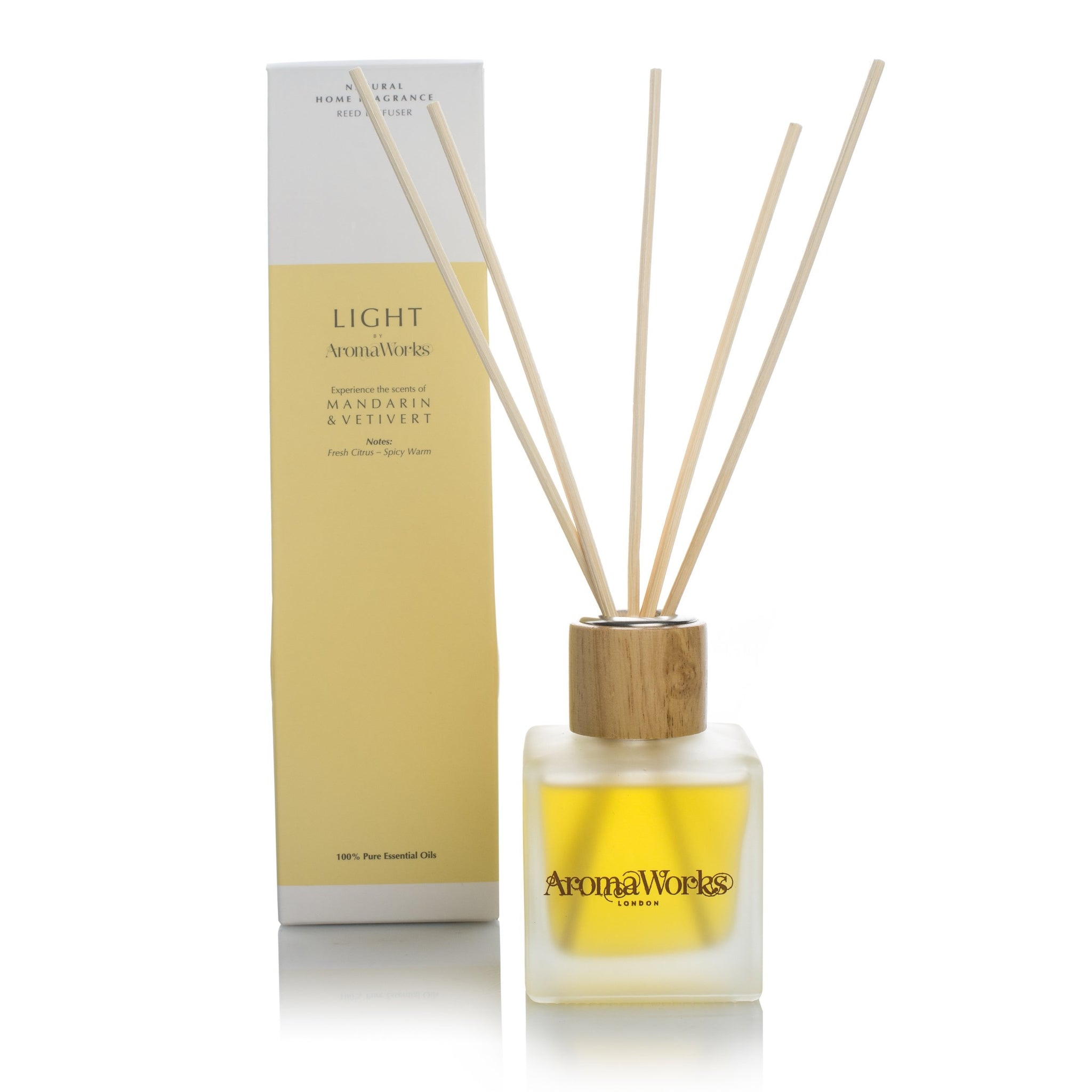 Mandarin and Vertivert Reed Diffuser