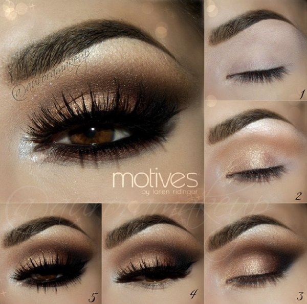 11 Step By Step Smokey Eye Makeup Tutorials For Beginners