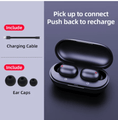 Fingerprint Touch Bluetooth Earphones