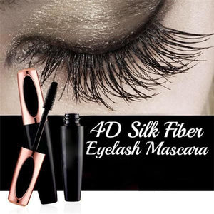 New 4D Silk Fiber Eyelash Mascara - Waterproof