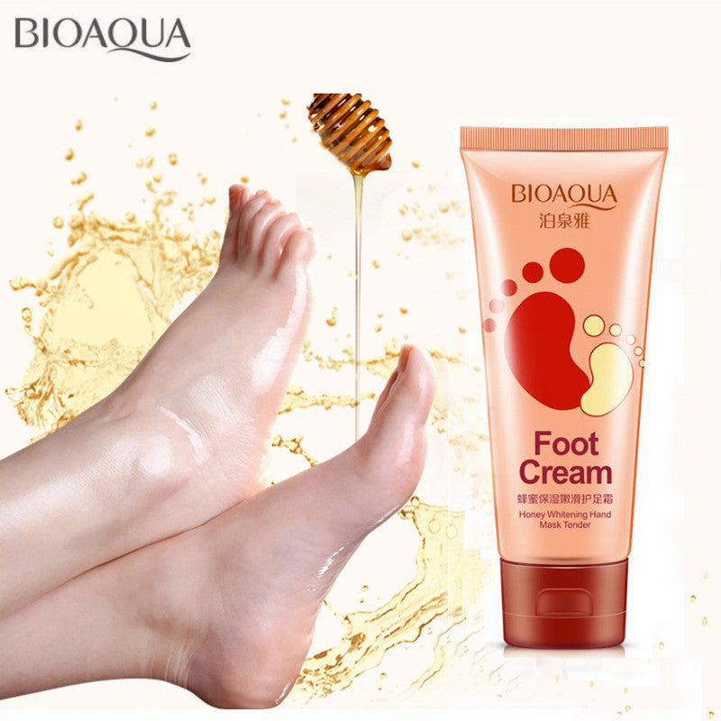 Foot Cream With Natural Honey - 60g - SuperGreatOffer™ Moisturizing