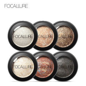 Metallic Glitter Eye Shadow - 10 Colors