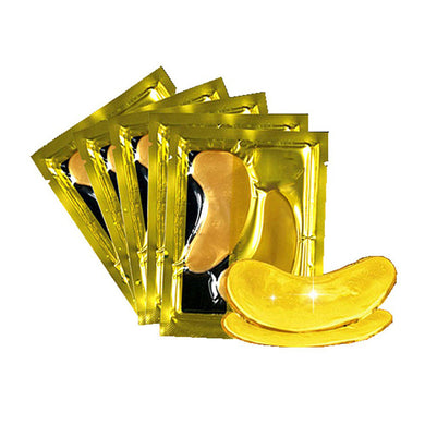 Gold Collagen Eye Mask Anti-Aging - 10 Pieces