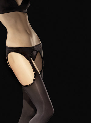 Diavalo - Crotchless Tights