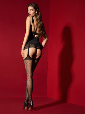 AMOREMIO - Fishnet Tights for girls - Sexy sheer - Erotic stockings for women - Valentin's day gift - Gift for her - Shop Leg Appeal