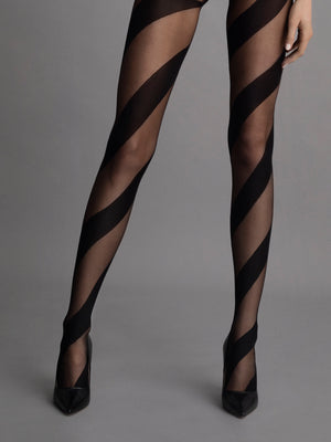 Candy tights - Patterned Tights - Fishnet tights -  Erotic Sheer - Women THIGH-HIGHS - Sexy hosiery -  Valentines day 2021 - Gift for her - Shop Leg Appeal