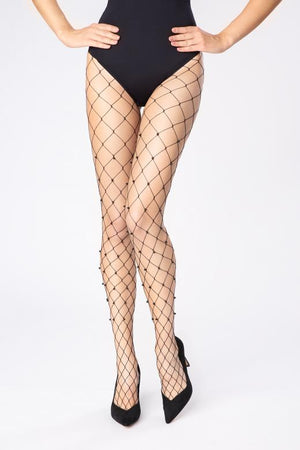 Diamonds and Pearls - Fishnet Tights
