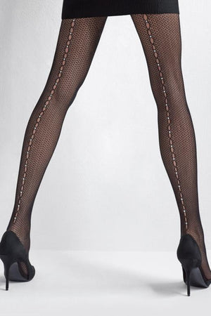 Charly R15 - Fishnet Tights - Women Mesh Stockings - Erotic stockings for women - Valentin's day gift - Gift for her - Shop Leg Appeal