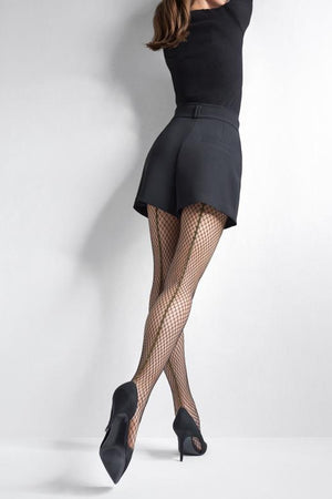 Charly R16 - Fishnet Tights