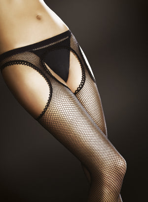 Passion - Fishnets Crotchless Tights