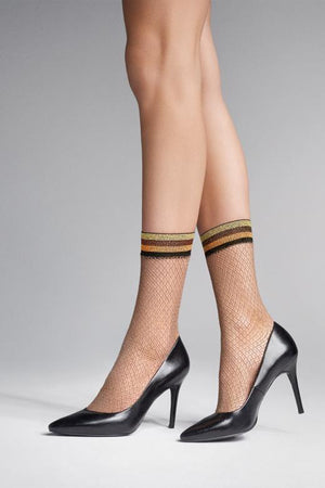 Charly S52 - Sexy lace Fishnet Socks - Women SOCKS - Mesh socks - Vday 2021 - Valentines day ideas - Shop Leg Appeal