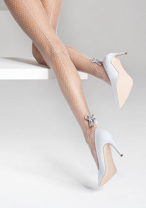 Charm P32 - Fishnet Tights - Women Mesh Stockings - Erotic stockings for women - Valentin's day gift - Gift for her - Shop Leg Appeal
