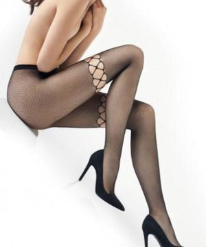 Charly 11 - Fishnet Tights - Women Mesh Stockings - Erotic stockings for women - Valentin's day gift - Gift for her - Shop Leg Appeal