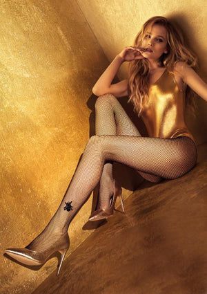 Charm N2 - Fishnets Tights - Erotic stockings for women - Thigh Highs - Valentin's day gift - Gift for her - Shop Leg Appeal