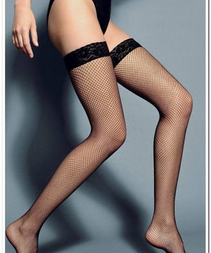 Fishnet Stay-up Thigh-high,FISHNET THIGH-HIGHS,Shop Leg Appeal
