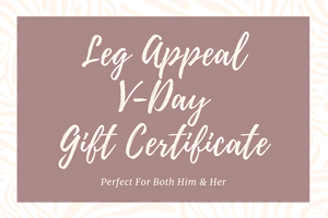 Valentine's Gift Card,Gift Card,Shop Leg Appeal
