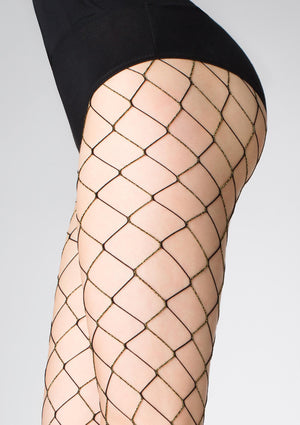Charly N57 - Fishnets Tights - Erotic stockings for women - Thigh Highs - Valentin's day gift - Gift for her - Shop Leg Appeal