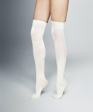 Classically cute knee socks available in three rich colors