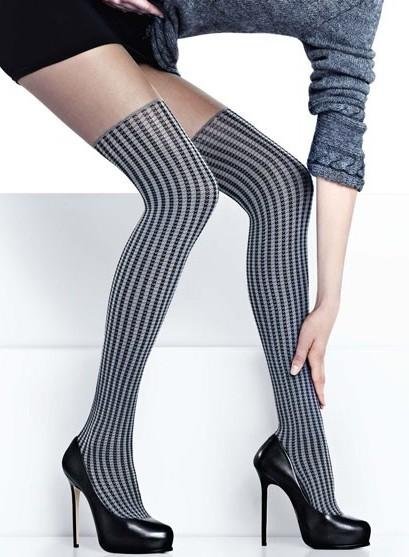 THIGH-HIGH TIGHTS - Zazu 624 - Thigh-High Tights
