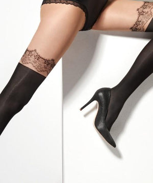 Zazu Lace - Thigh-high Tights