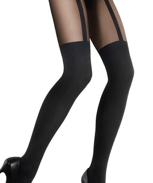 Zazu Line - Thigh-high Tights,THIGH-HIGH TIGHTS,Shop Leg Appeal