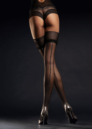 THIGH-HIGHS - Erotic lingerie tights - Thigh-High Stay-Ups - sexy stockings - Valentine's day gift - vday 2021