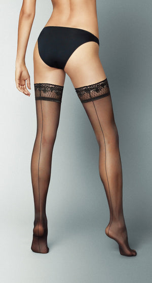 THIGH-HIGHS - Riga Dietro - Thigh-high Stay-Ups