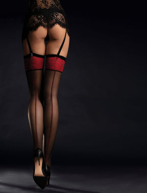 THIGH-HIGHS - Scarlett - Thigh-high Stockings