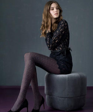 Blueberry Love - Tights,TIGHTS,Shop Leg Appeal