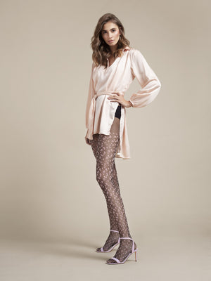 Claudia Tights - Polka Dot Tights - Sexy Thigh Highs - Sexy Hosiery - Women tights - Valentines day ideas - Shop Leg Appeal