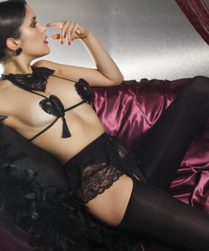 Dionisio Strip-panty - Garter & Thigh-high Stockings